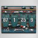 JDS CA726 NFL Locker Room Canvas Prints