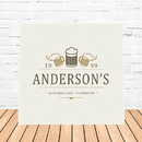 JDS CA759 Beer Mugs Canvas Sign