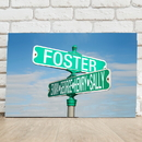 JDS CA762 Personalized Street Sign Canvas