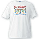JDS GC1052 Personalized Grandpa T Shirt - Best Grandpa