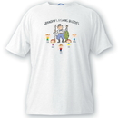 JDS GC1052 Personalized Grandpa T Shirt - Fishing Buddies