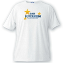 JDS GC1052 Personalized Dad T Shirt - Superhero!