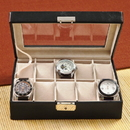 JDS GC1082 Personalized Men's Leather Watch Case