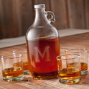 JDS GC1097 Personalized Whiskey Growler Set