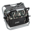 JDS GC1102 Personalized Cooler Chair - Camo - Sit N' Sip