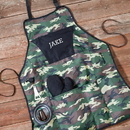 JDS GC1103 Deluxe Camouflage Grilling Apron Set