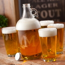 JDS GC1206 Engraved Growler Set (four blank pint glasses)