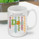 JDS GC1271 Personalized Father's Day Mug