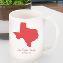 JDS GC1279 Personalized State Coffee Mug