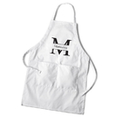 JDS GC1377 Men's White Apron