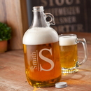 JDS GC1467 Monogrammed Glass Beer Growler