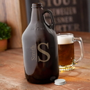 JDS GC1468 Monogrammed Amber Beer Growler