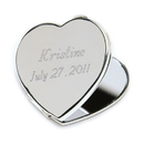 JDS Personalized Heart Mirror Compact