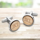 JDS GC1917 Bamboo Cufflinks for Men