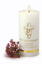 JDS Personalized First Communion Candle