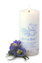 JDS Personalized It's A Boy Candle