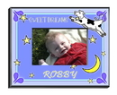 JDS Personalized Boy's Cow Jumping Over the Moon Picture Frame