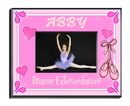 JDS Personalized Dancer Picture Frame