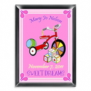 JDS Personalized Girl's Wooden Blocks Room Sign
