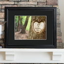 JDS Personalized Tree of Love Print with Wood Frame