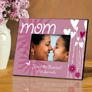 JDS Personalized Hearts and Flowers Picture Frame
