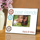 JDS Personalized BFF Bouquet Picture Frame