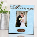 JDS Personalized Marriage Picture Frame