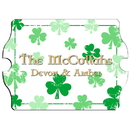 JDS Vintage Personalized Raining Clovers Family Sign