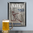 JDS Personalized Traditional  Homerun Man Cave Pub Sign