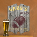 JDS Personalized Football Man Cave Vintage Pub Sign