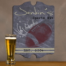 JDS Vintage Personalized Football Tavern Sign