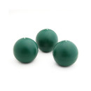 "Jeco CBZ-011 2"" Hunter Green Ball Candles (12pc/Box)"