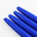 """Jeco CEZ-014 6"""" Royal Blue Taper Candles (1 Dozen)"""