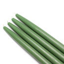 "Jeco CEZ-036 10"" Hunter Green Taper Candles (1 Dozen)"