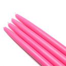 "Jeco CEZ-090_12 10"" Hot Pink Taper Candles (144pcs/Case) Bulk"