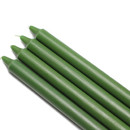 "Jeco CEZ-101 10"" Hunter Green Straight Taper Candles (1 Dozen)"