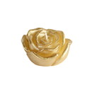"Jeco CFZ-101 3"" Metallic Gold Rose Floating Candles (12pc/Box)"