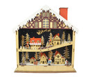 Jeco CHD-ID149 Wooden Village Figures Led