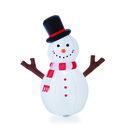 Jeco CHD-OD048 4' Inflatable Tree Hand Snowman