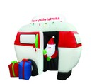 Jeco CHD-OD062 6.5Ft Airblown Camper With Santa