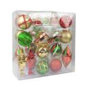 Jeco CHD-TA123 36 Pcs Mix Christmas Ornament