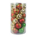 Jeco CHD-TA128 Combo 30Pc Christmas Ornament-Mix Color