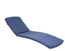 Jeco CL1-FS011 Midnight Blue Chaise Lounger Cushion