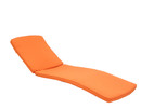 Jeco CL1-FS016 Orange Chaise Lounger Cushion