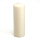 "Jeco CPZ-048_12 3 x 9"" Ivory Pillar Candles (12pcs/Case) Bulk"