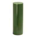 "Jeco CPZ-101 3 x 9"" Hunter Green Pillar Candle"