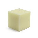 "Jeco CPZ-126_12 3 x 3"" Ivory Square Pillar Candles (12pcs/Case) Bulk"