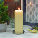 Jeco CPZ-180 3 x 8 Inch Ivory Pillar Candle