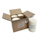 Jeco CPZ-181_4 4 x 6 Inch Ivory Pillar Candles - Set of 4