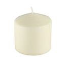 Jeco CPZ-3P33I 3 Inchx 3 Inch Ivory Pressed And Over-Dipped Pillar